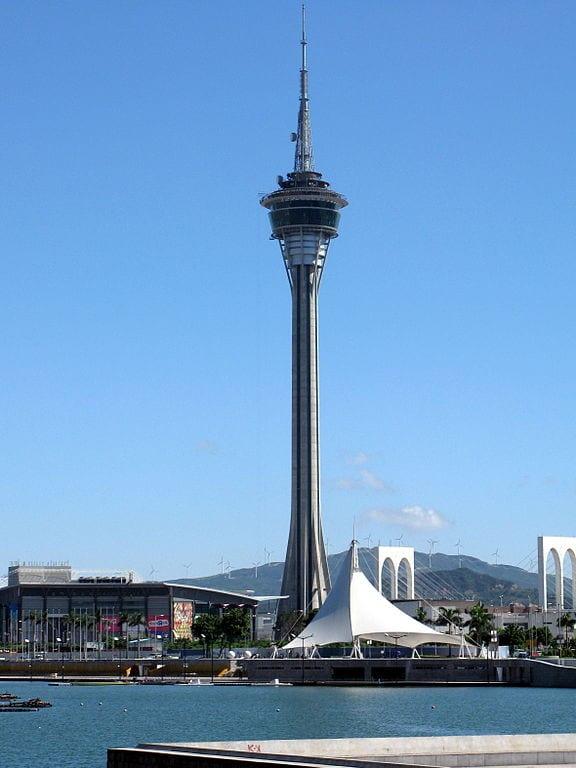 Highest Bungee Jumps: Macau Tower