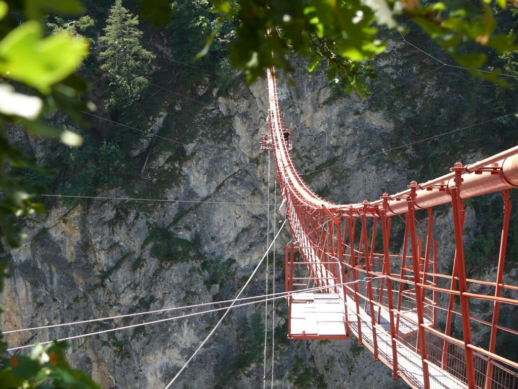 Highest Bungee Jumps: Niouc Bridge, Val d'Anniviers, Switzerland