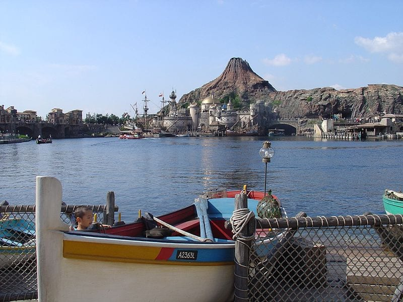 Most Popular Amusement parks In The World: Tokyo DisneySea