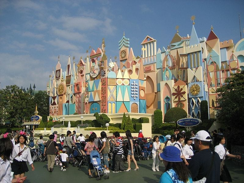 Most Popular Amusement parks In The World: Tokyo Disneyland