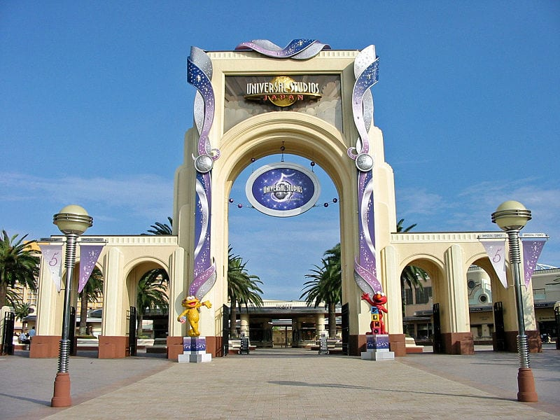 Most Popular Amusement parks In The World: Universal Studios Japan