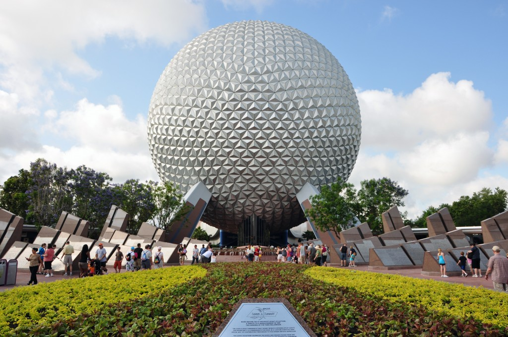 Most Popular Amusement parks In The World: Epcot, Florida