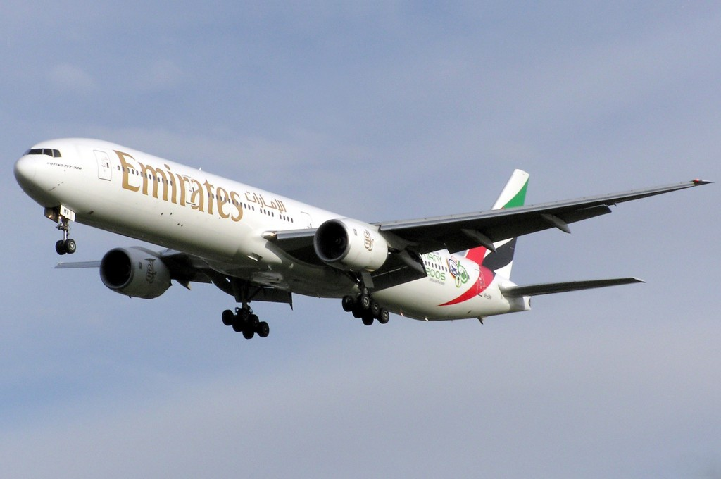 Longest Flights You Can Take: Emirates Boeing 777