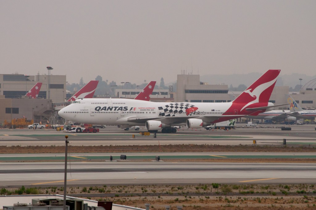Longest Flights You Can Take: Qantas Boeing 747