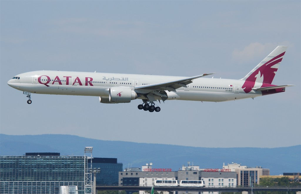 Longest Flights You Can Take: Qatar Airways Boeing 777
