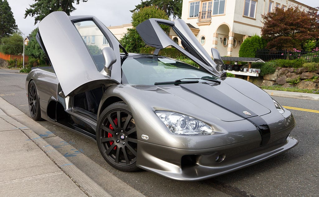 Fastest Accelerating Cars: SSC Ultimate Aero TT