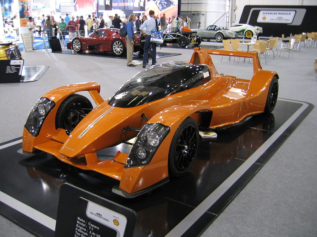 Fastest Accelerating Cars:Caparo T1