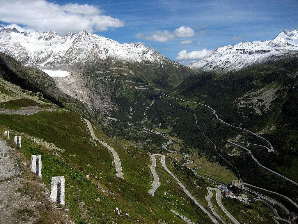 Most Beautiful Roads In The World: Furka Pass, Switzerland