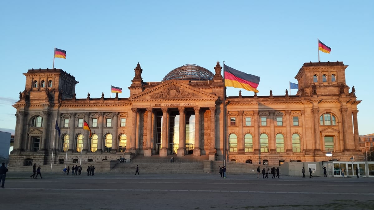 Most Beautiful Parliament Buildings: The Reichstag, Berlin