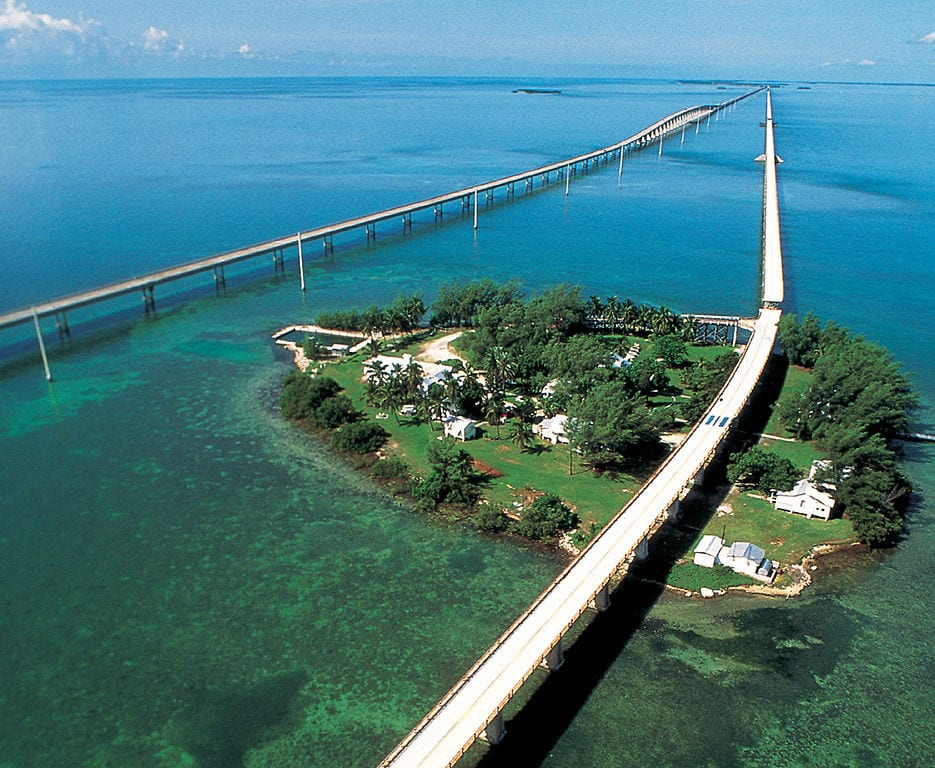 Most Beautiful Roads In The World:Seven Mile Bridge, Florida