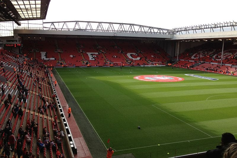 Liverpool F.C. at Anfield, Liverpool