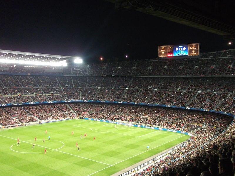 F.C Barcelona at Camp Nou, Barcelona