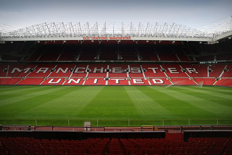 Manchester United at Old Trafford, Manchester