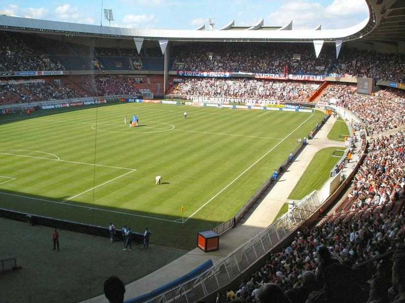 Paris Saint-Germain at the Parc des Princes, Paris