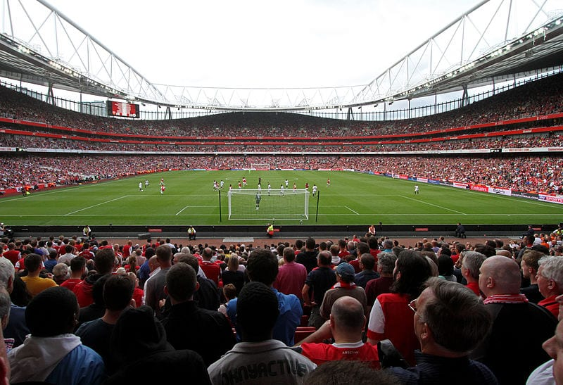 Arsenal at the Emirates Stadium, London