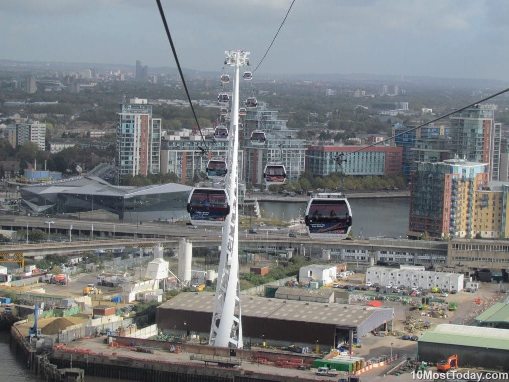 emirates air line London - Most Amazing Aerial Lifts