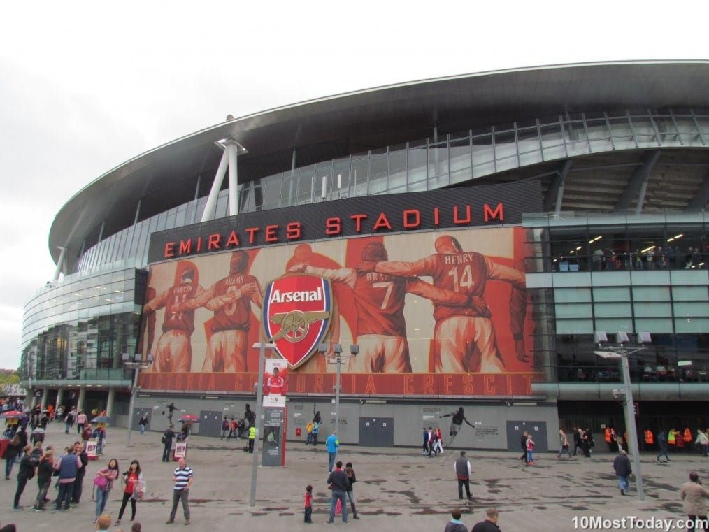 The Emirates Stadium, London