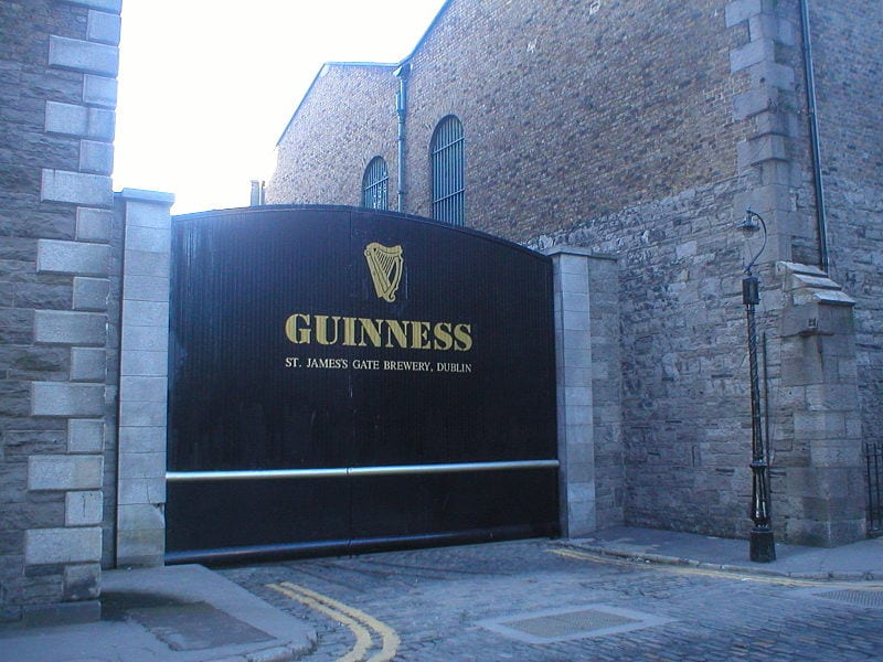 Best Brewery Tours In The World: Guinness Brewery, Dublin