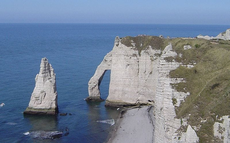 10 Best Attractions In Normandy: The Cliffs of Étretat