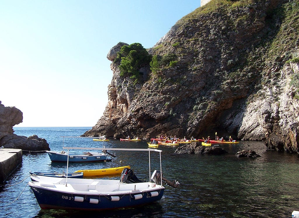 Best Sea Kayaking Locations: Dubrovnik, Croatia