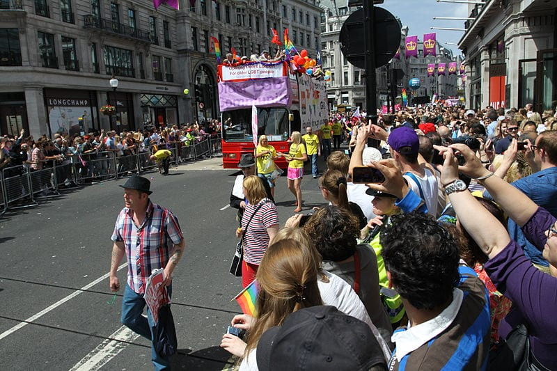 London, Engalnd. Home to the largest gay community in Europe