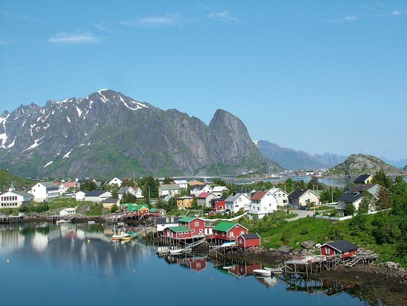 Best Sea Kayaking Locations: Reine, Lofoten, Norway
