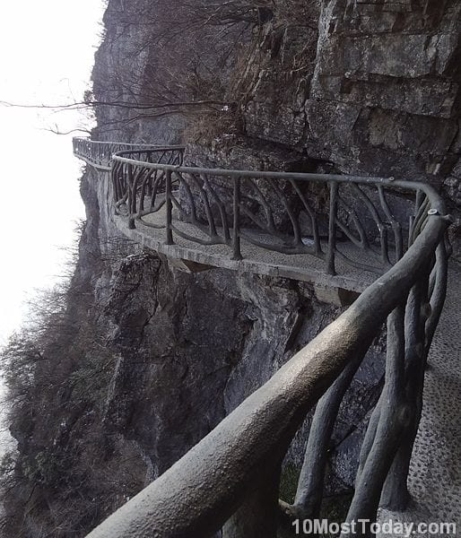 Unforgettable Skywalks: Skywalk on Tianmen Mountain
