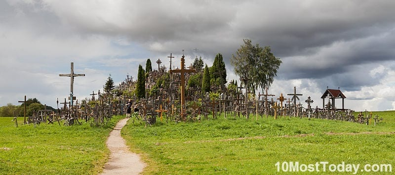 Creepiest Places In The World: The Hill of Crosses, Lithuania