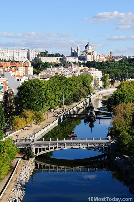 Manzanares River, Madrid