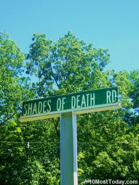 Creepiest Places In The World: Shades Of Death Road, New Jersey