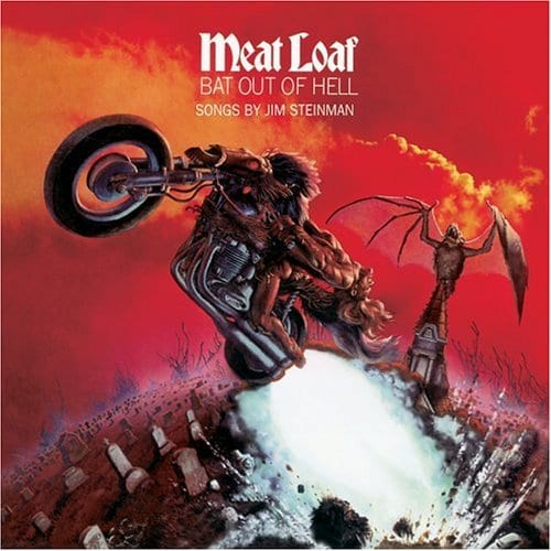 10 Best Selling Albums Of All Time: Bat Out of Hell - Meat Loaf