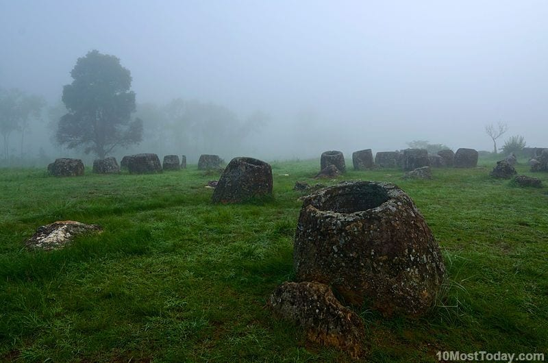 Most Mysterious Places On Earth: Plain of Jars, Laos