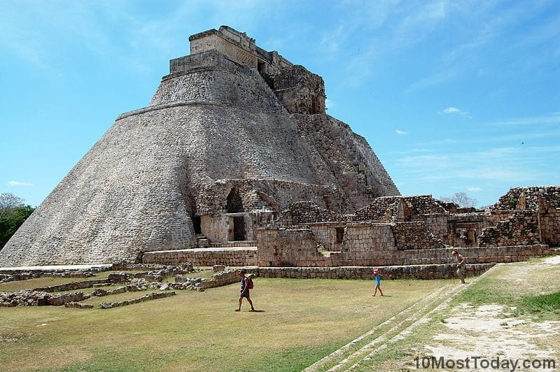 Most Notable Pyramids In The World: Pyramid of the Magician, Mexico