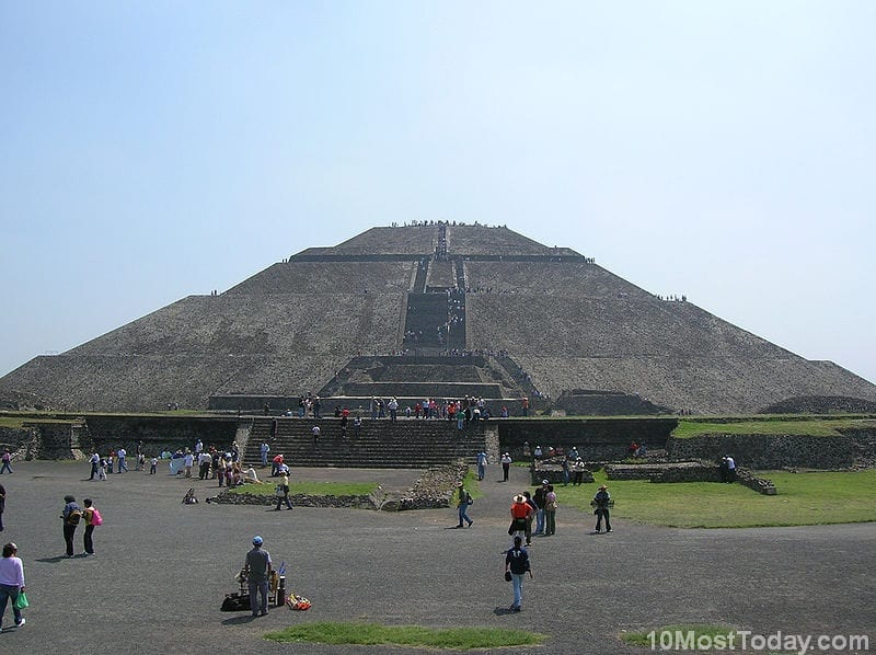 Most Notable Pyramids In The World: Pyramid Of The Sun, Teotihuacán, Mexico