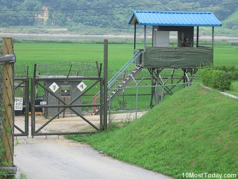 Most Incredible Man Made Barriers: Korean Demilitarized Zone (DMZ)