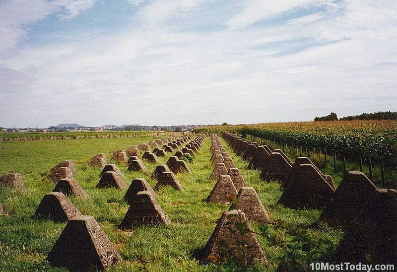 Most Incredible Man Made Barriers: Siegfried Line (Westwall), Germany