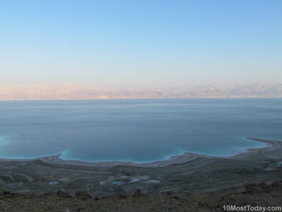 Awesome Geographical Extreme Points: The Dead Sea