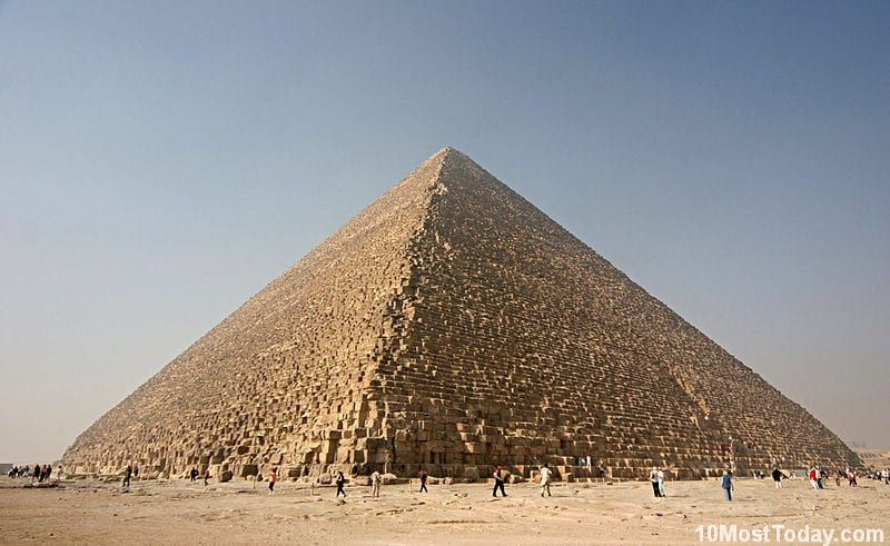 Most Notable Pyramids In The World: The Great Pyramid of Giza, Egypt