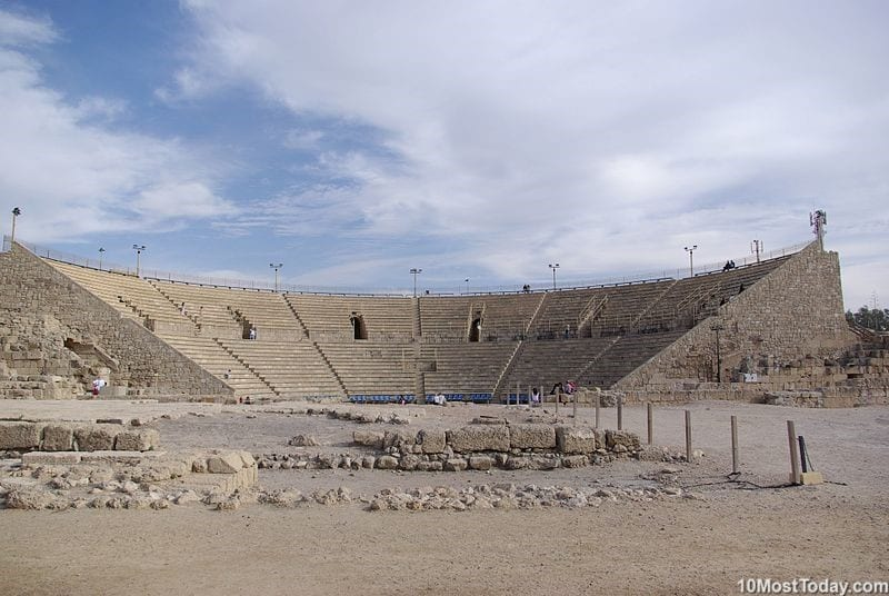 Most Beautiful Roman Theaters: Theater of Caesarea Maritima