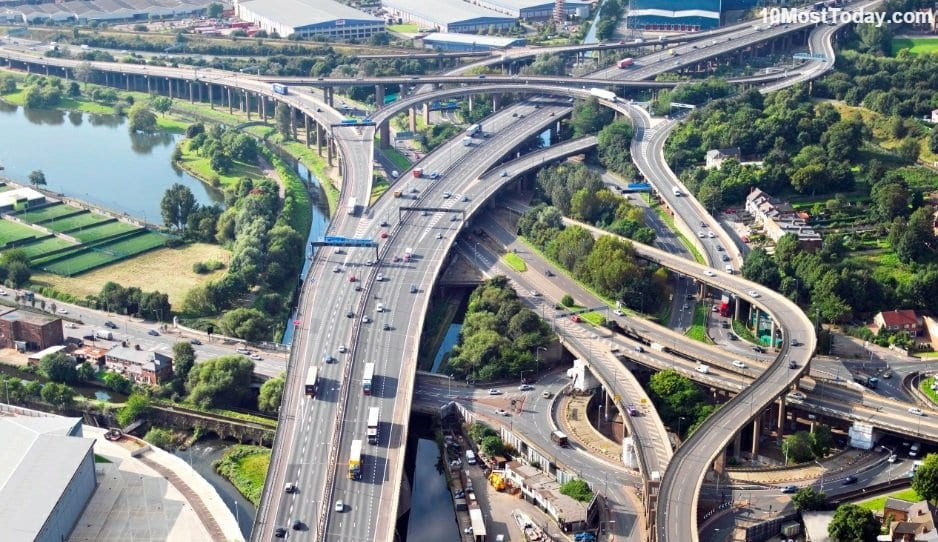 Mind Blowing Interchanges: Gravelly Hill Interchange, England