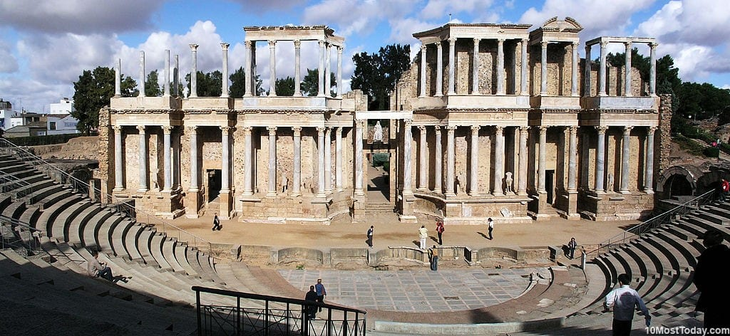Most Beautiful Roman Theaters: Theater of Emerita Augusta, Mérida