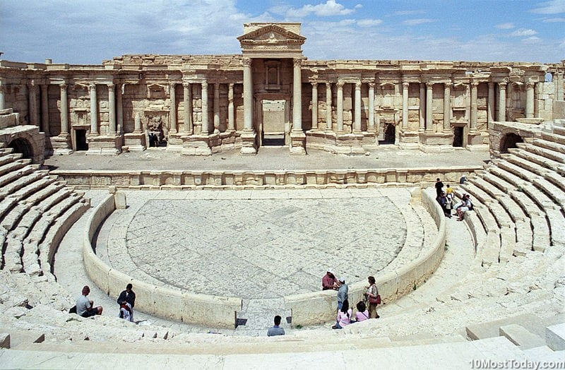 Most Beautiful Roman Theaters: Roman Theater at Palmyra