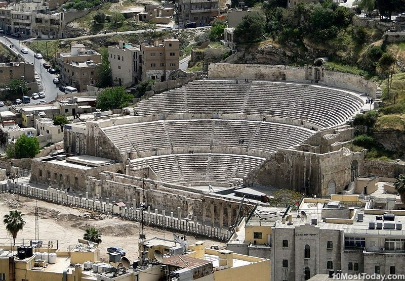 Most Beautiful Roman Theaters: Roman Theater of Amman