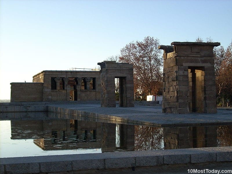 Best Attractions In Madrid: Temple of Debod