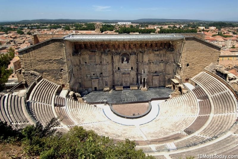 Most Beautiful Roman Theaters: Ancient Theater of Orange
