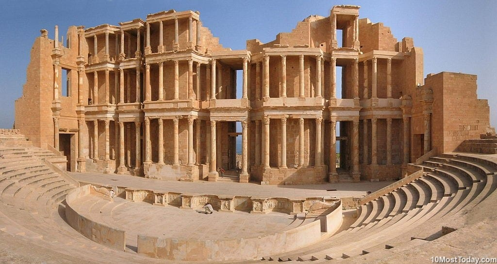 Most Beautiful Roman Theaters: Theater of Sabratha
