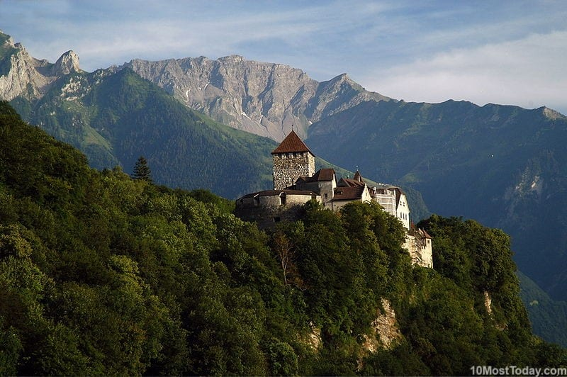 Vaduz Castle - the palace and official residence of the Prince of Liechtenstein
