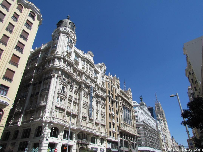 Best Attractions In Madrid: Gran Via