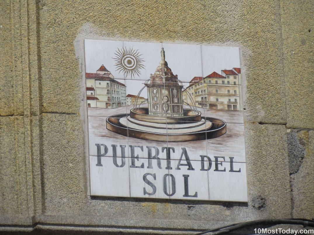 Best Attractions In Madrid: Puerta del Sol