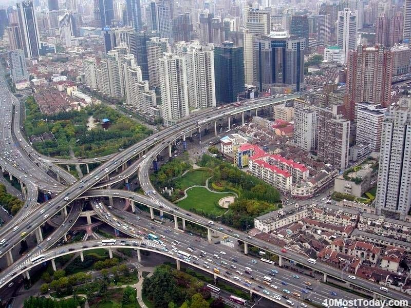 Mind Blowing Interchanges: Puxi Viaduct, Shangahi